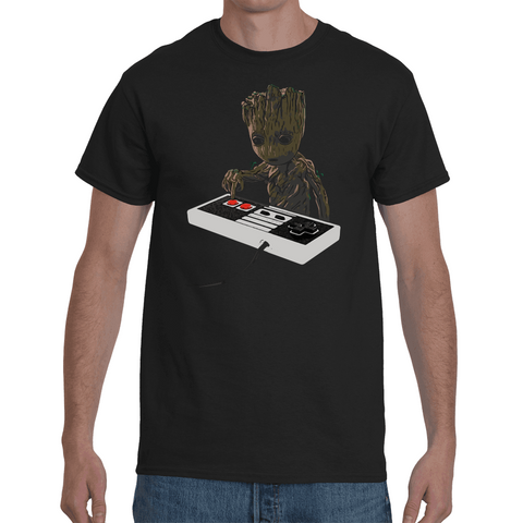 T-shirt Groot - Nes Controller - Sheepbay