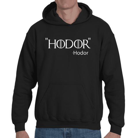 Hooded Sweatshirt Game of Thrones - Hodor - Sheepbay