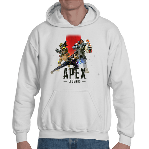 Hooded Sweatshirt Apex Legends Cover - Sheepbay