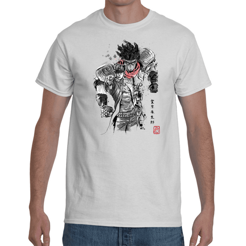 T-shirt Jojo's Bizarre Adventure - Jotaro & Star platinum Artwork - Sheepbay