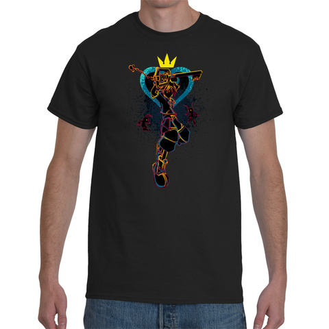 T-shirt Kingdom Hearts - Shadow of the Hearts - Sheepbay