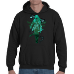 Hooded Sweatshirt Zelda Link Shadow - Sheepbay