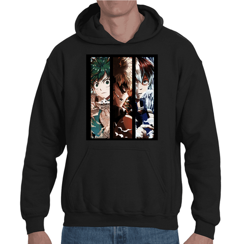 Hooded Sweatshirt My Hero Academia Poster - Sheepbay