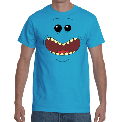 T-shirt Rick & Morty - Mr Meeseeks Face | Sheepbay.com - Sheepbay