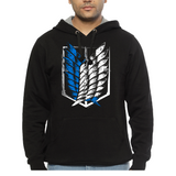 Hooded Sweatshirt Attack On Titan Exploration Squad - Sheepbay