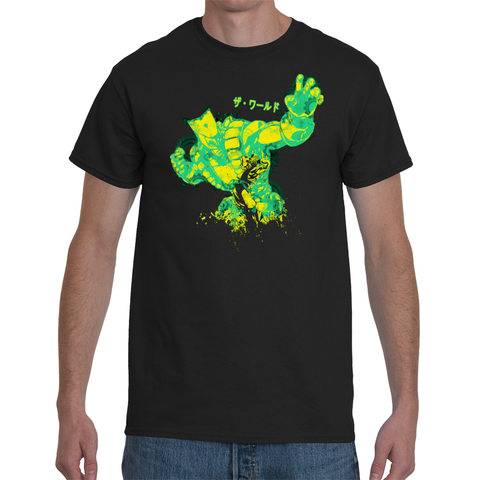 T-shirt Jojo's Bizarre Adventure Dio - The World - Sheepbay