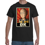 "T-shirt One Punch Man ""OK"" Poster - Sheepbay"