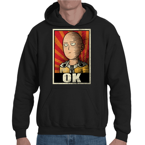 Hooded Sweatshirt One Punch Man Poster - Sheepbay