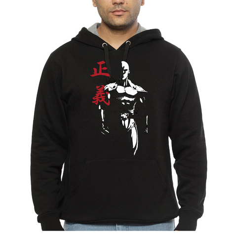 Hooded Sweatshirt One Punch Man Shadow - Sheepbay