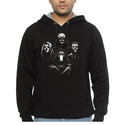 Hooded Sweatshirt Star Wars Bohemian Rhapsody - Sheepbay
