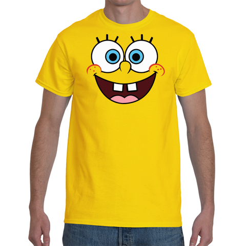 T-shirt Sponge Bob Face - Sheepbay