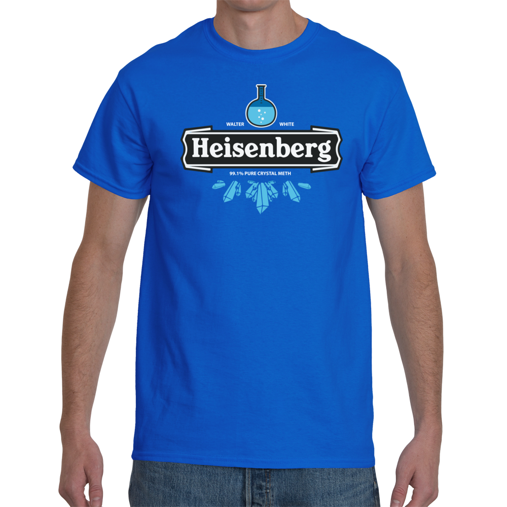 T-shirt Breaking Bad Heisenberg - Sheepbay