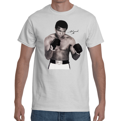 T-shirt Mohamed Ali Signature - Sheepbay
