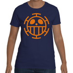 T-shirt One Piece Trafalgar Law Logo - Sheepbay