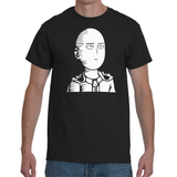 T-shirt One Punch Man Face - Sheepbay