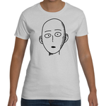 T-shirt One Punch Man Saitama's Face - Sheepbay