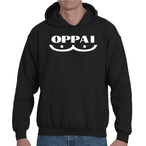 Hooded Sweatshirt One Punch Man Oppai - Sheepbay