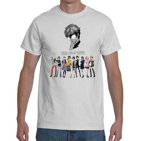 T-shirt Persona 5 Girlfriends Take Your Time - Sheepbay