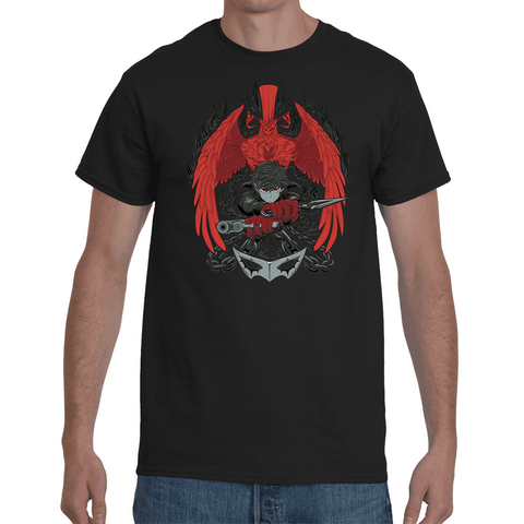 T-shirt Persona 5 Arsene & Protagonist Artwork - Sheepbay