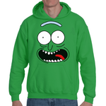 Hooded Sweatshirt Rick & Morty - Pickle Rick - Sheepbay