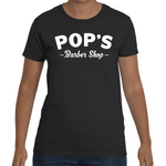 T-shirt Luke Cage - Pop's Barber Shop - Sheepbay