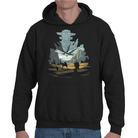 Hooded Sweatshirt Shadow Of The Colossus - Sheepbay