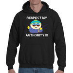 Hooded Sweatshirt South Park - Respect My Authority - Sheepbay