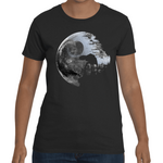T-Shirt Star Wars Death Star Moon - Sheepbay