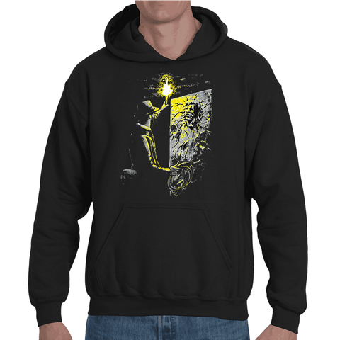 Hooded Sweatshirt Indiana Jones finds Han solo - Sheepbay
