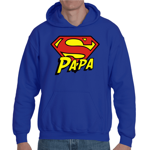Hooded Sweatshirt Super Papa - Sheepbay