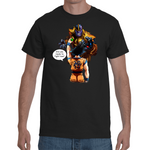 T-shirt Dragon Ball Goku Vs Thanos - Sheepbay