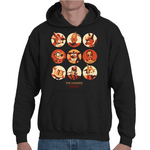 Hooded Sweatshirt Video Game Legends - Sheepbay