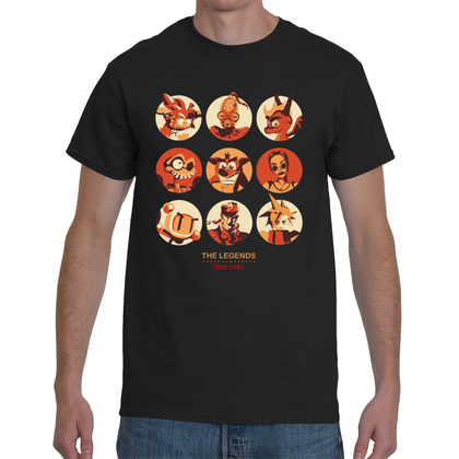 T-shirt The Video Game Legends - Sheepbay