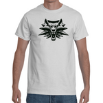 T-shirt The Witcher - School of the Wolf Pendant - Sheepbay