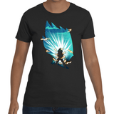 T-shirt Dragon Ball Vegeta Final Flash Artwork - Sheepbay