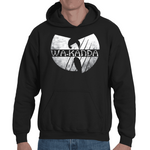 Hooded Sweatshirt Black Panther Parody Wu-Tang - Sheepbay