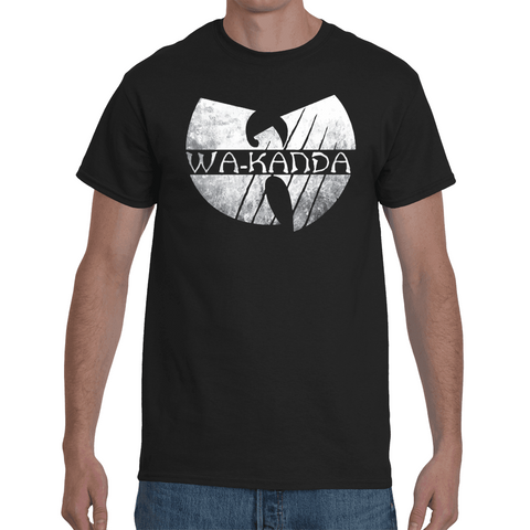 T-shirt Black Panther Parody Wu-Tang - Sheepbay