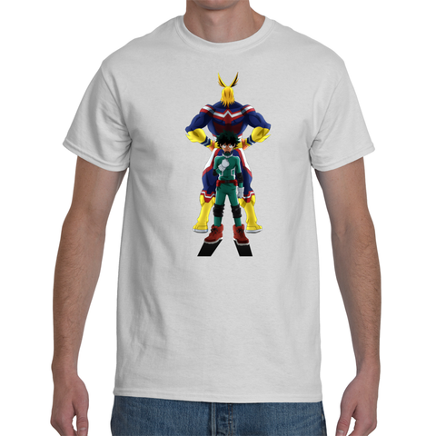 T-shirt My Hero Academia All Might & Deku - Sheepbay