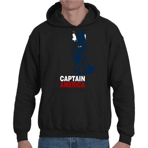 Hooded Sweatshirt Captain America Shadow - Sheepbay