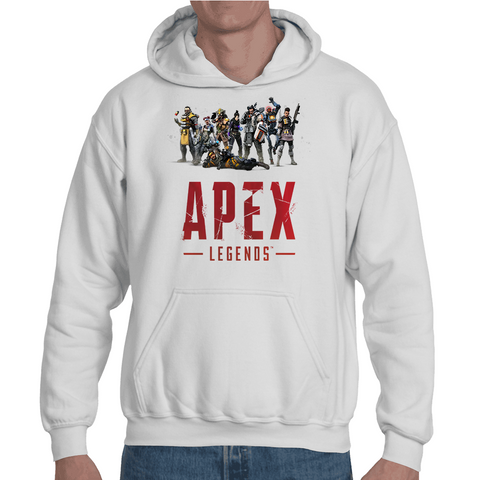 Hooded Sweatshirt Apex Legends - All Characters - Sheepbay
