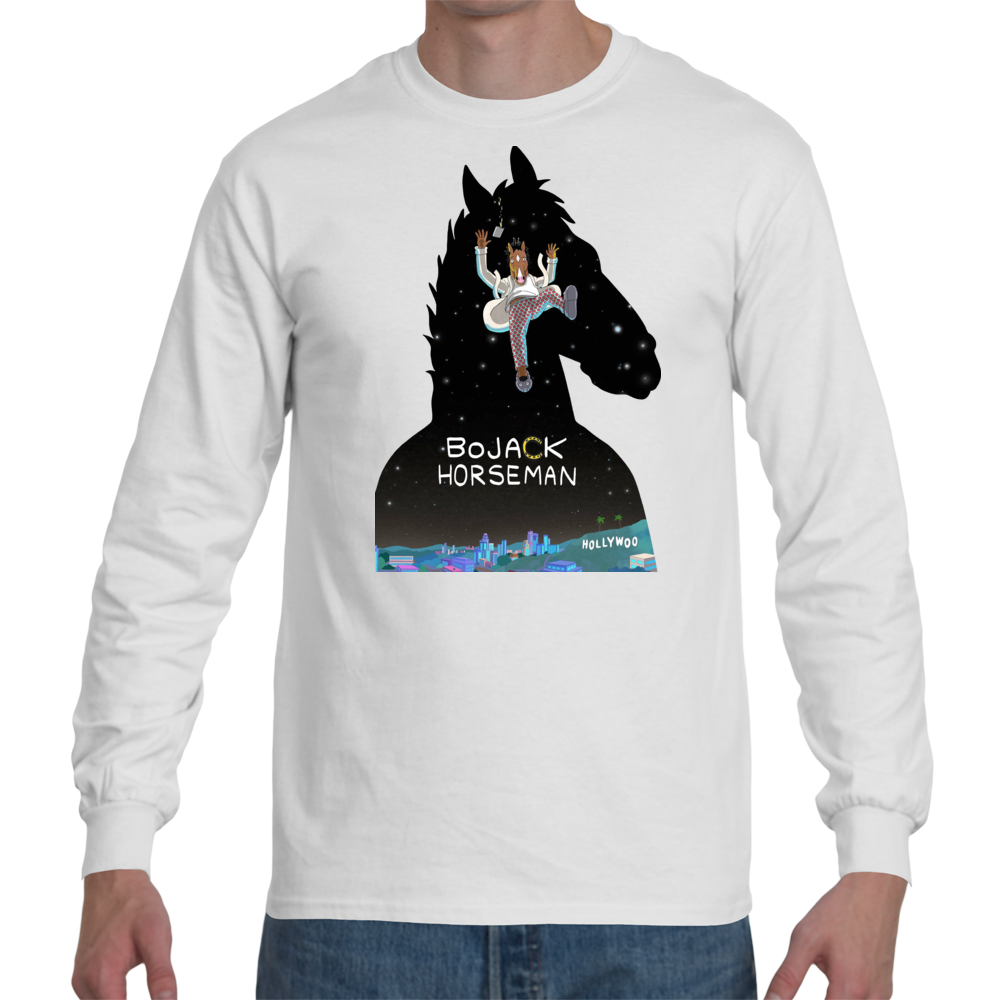 T-shirt Bojack Horseman Cover - Sheepbay