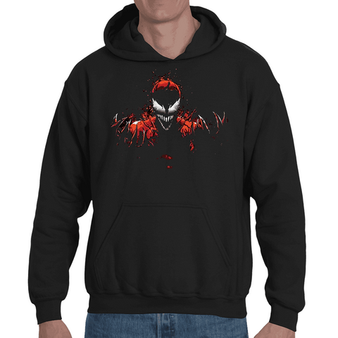 Hooded Sweatshirt Spiderman Carnage - Sheepbay