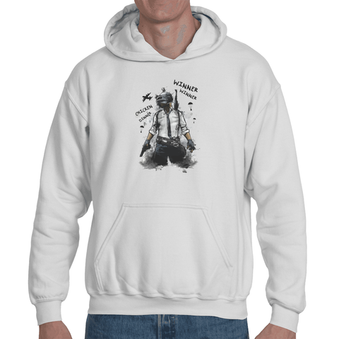 Hooded Sweatshirt Playerunknown's Battlegrounds - PUBG Chicken Dinner - Sheepbay