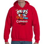 Hooded Sweatshirt Cuphead - Don't Deal With The Devil - Sheepbay