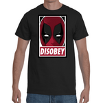 T-shirt Deadpool Disobey - Sheepbay