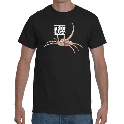 T-shirt Alien Free Hugs - Sheepbay