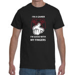T-shirt Gamer Good With His Hands - Sheepbay