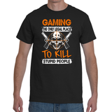T-shirt Gaming - The Only Legal Place - Sheepbay