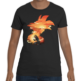 T-shirt Dragon Ball Goku Kame Ha Me Ha Artwork - Sheepbay