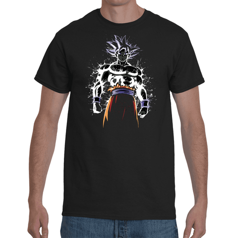 T-shirt Dragon Ball Super Goku Ultra Instinct Artwork - Sheepbay